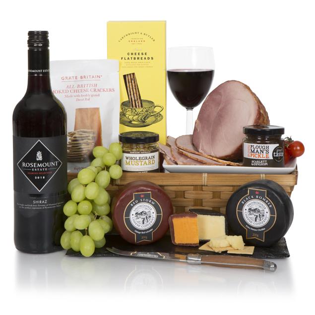 Luxury Ham & Wine Feast Hamper