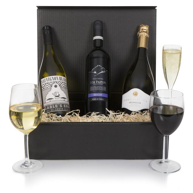 Luxury Wine and Prosecco Hamper Hamper