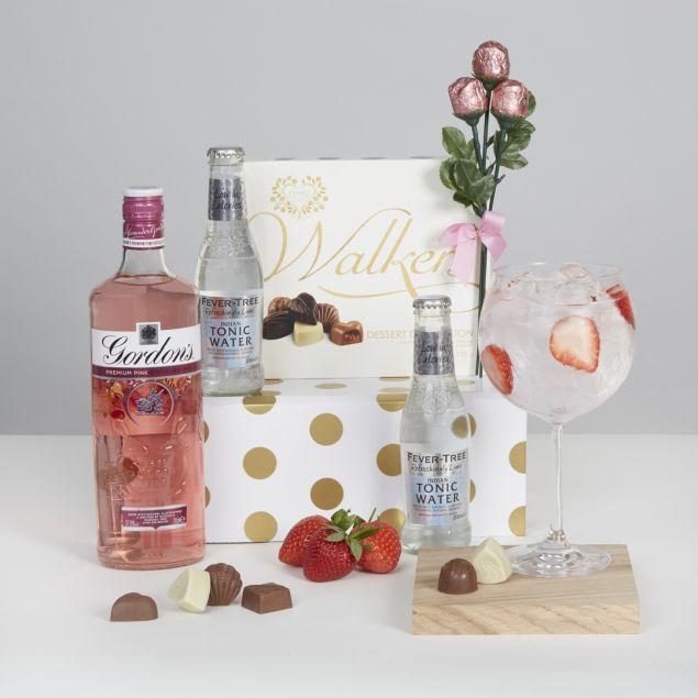 Mother's Day Pink Gin Hamper Hamper