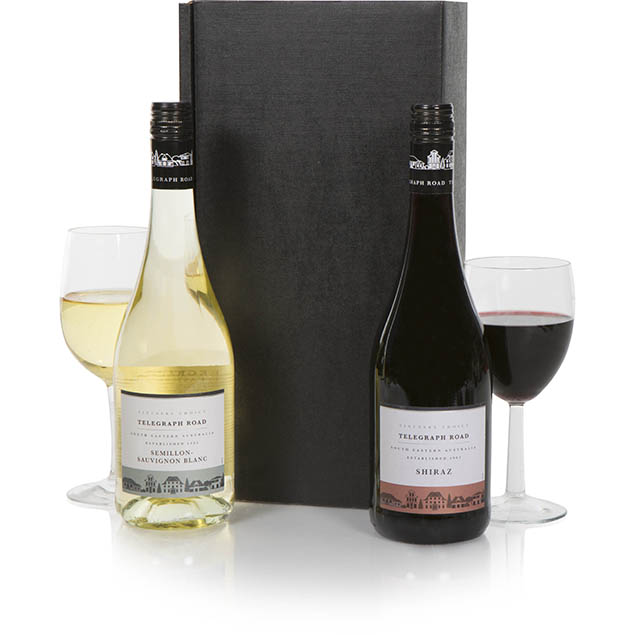 Luxury Wine Duo Hamper Hamper