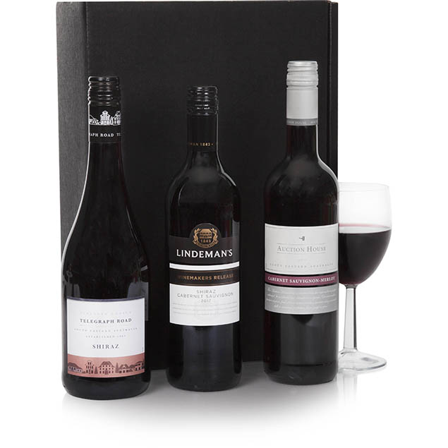 Australian Red Wine Trio Hamper