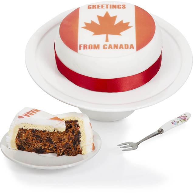Canadian Greetings Cake Hamper