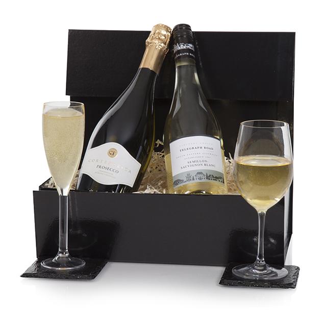 Prosecco and White Wine Hamper Hamper