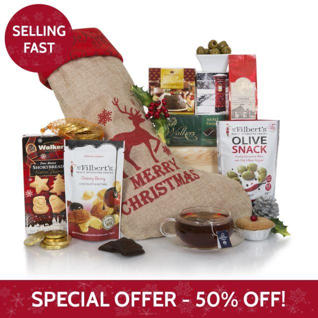 Santa's Christmas Stocking Hamper