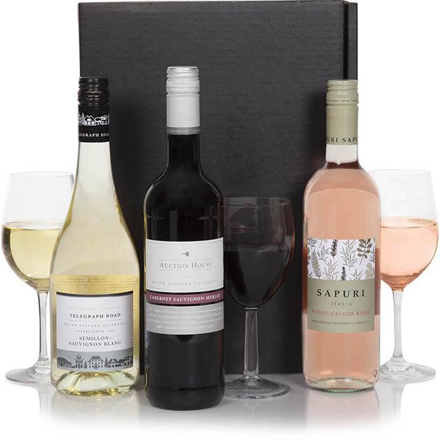 Classic Wine Selection Trio Hamper