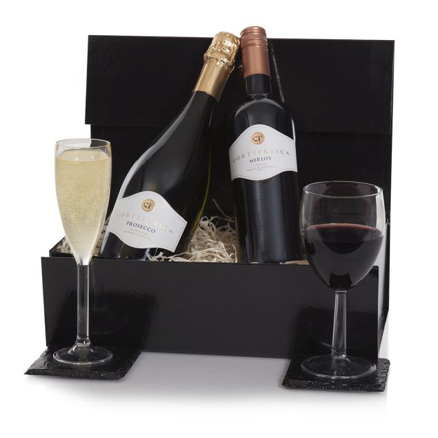 Prosecco & Red Wine Gift Hamper Hamper