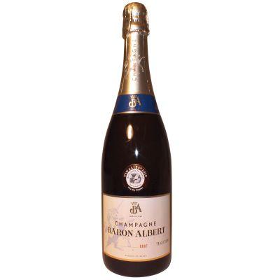 Baron Albert NV Brut Champagne 75cl