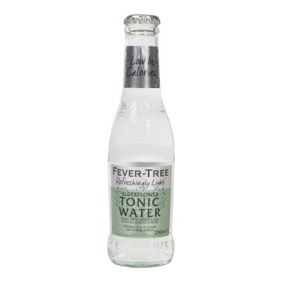 Fever Tree Mediterranean Elderflower Tonic Water 200ml