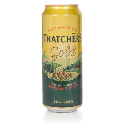 Thatchers Gold Somerset Cider 500ml