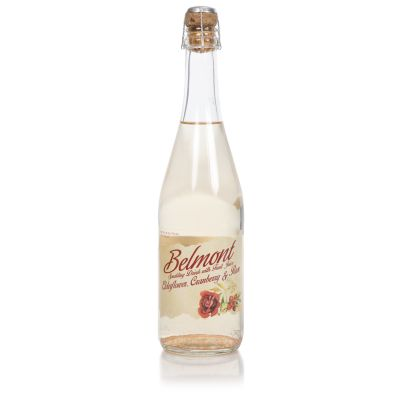 Belmont Elderflower, Cranberry & Rose Sparkling Drink 75cl