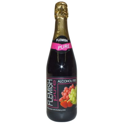 Flemish Sparkling Red Grape Drink 75cl