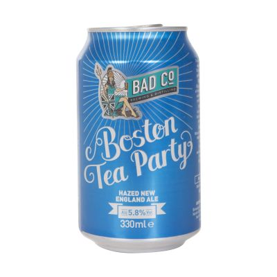 330ml Bad Co Beer Boston Tea Party Hazed New E. Ale