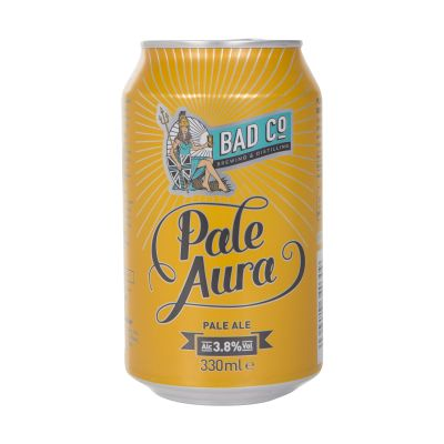 330ml Bad Co Beer Pale Aura Pale Ale