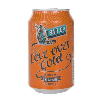 330ml Bad Co Beer Love Over Gold Blonde Ale