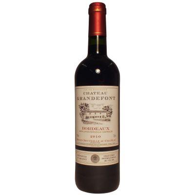 75cl Chateau Grandefont Bordeaux 12