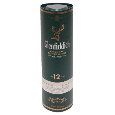 70cl Glenfiddich Single Malt Scotch Whisky Aged 12 Years