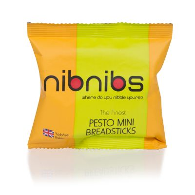 NibNibs Pesto Mini Breadsticks 25g