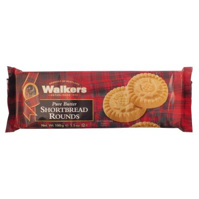 Walkers Shortbread Thistle Rounds 100g