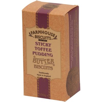 Farmhouse Biscuits Sticky Toffee Pudding Biscuits 150g