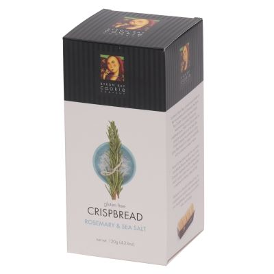 Byron Bay Rosemary & Sea Salt Crispbreads 120g