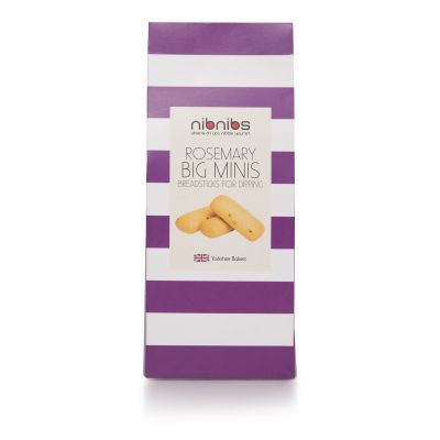 NibNibs Rosemary Mini Breadsticks 100g