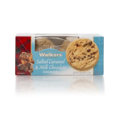 Walkers Salted Caramel & Milk Chocolate Cookies 150g