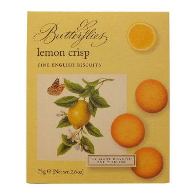 Butterflies Lemon Crisp Biscuits 75g