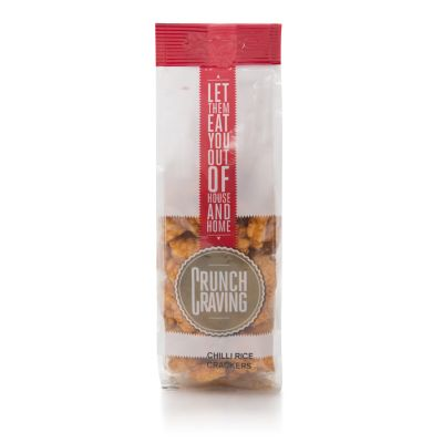 Crunch Craving Chilli Rice Crackers 80g