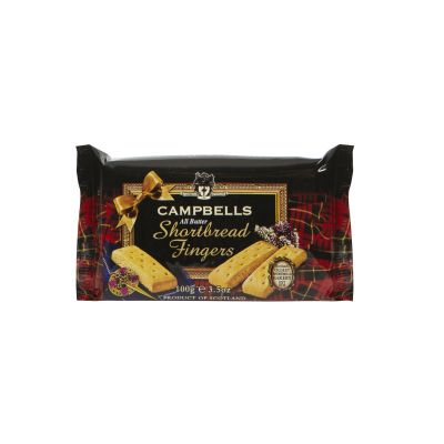 Campbells All Butter Shortbread Fingers 100g