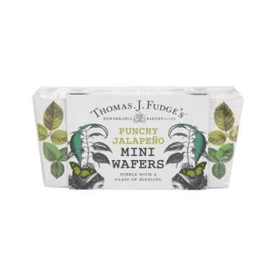 Thomas J Fudges Punchy Jalapeno Mini Wafers 75g