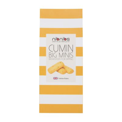 Nibnibs Cumin Mini Breadsticks 100g