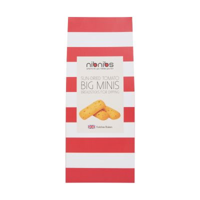 Nibnibs Sun Dried Tomato Mini Breadsticks 100g