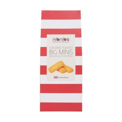 Nibnibs Sun Dried Tomato Mini Breadsticks 100g