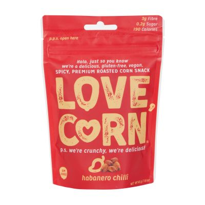 45g Love Corn Habenero Chilli Roasted Corn Snack