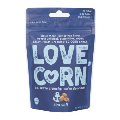 45g Love Corn Sea Salt Roasted Corn Snack
