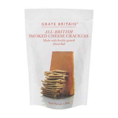 45g Artisan Smoked Cheese Crackers