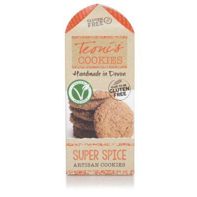 200g Teoni's Gluten Free Super Spice Oat Crumble Cookies