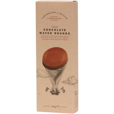 Cartwright & Butler Chocolate Wafer Rounds 120g