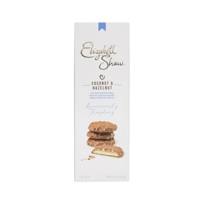 Elizabeth Shaw Milk Chocolate Coconut and Hazelnut Biscuits 140g