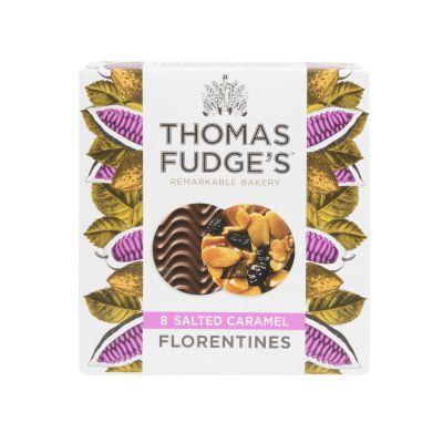Fudges Salted Caramel Florentines