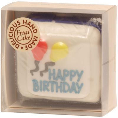 Original Cake Co Mini Birthday Cake (Blue)