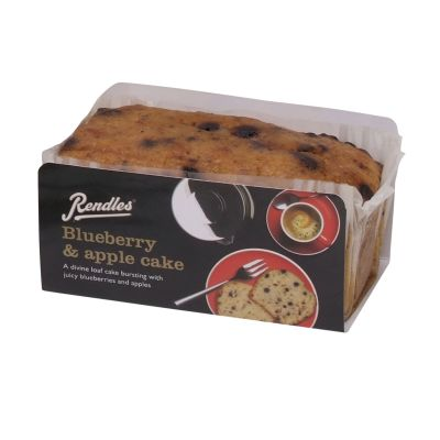 Rendles Blueberry & Apple Cake 300g