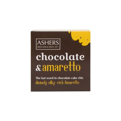 Ashers Chocolate and Amaretto Cake 250g