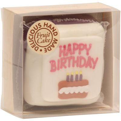 Original Cake Co Mini Birthday Cake (Pink)