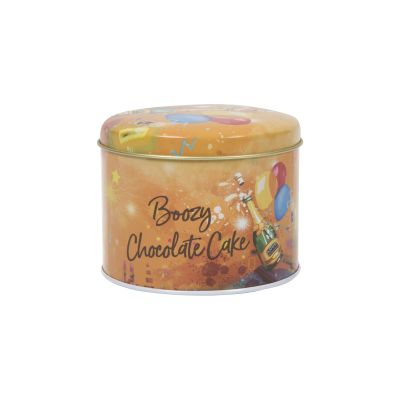 Ashers Boozy Chocolate Celebration Cake in a Tin 250g