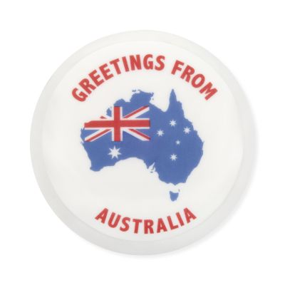 Iced & Decorated ''Greetings from Australia'' Cake 1000g