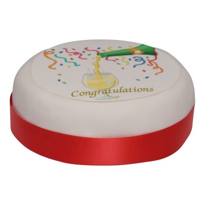 Iced & Decorated 'Congratulations' Cake 1000g