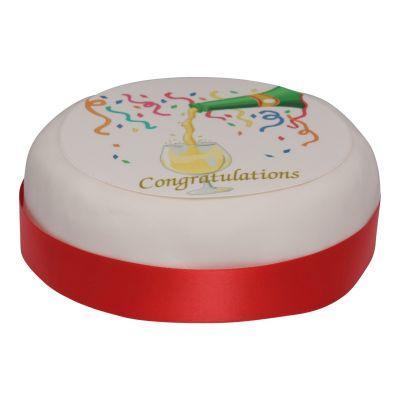 Un-boxed Congratulations Cake 1000g