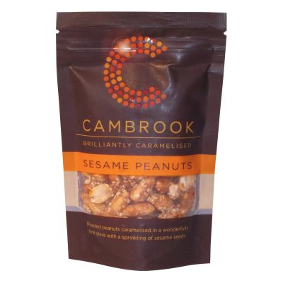 Cambrook Brilliantly Sesame Peanuts 80g