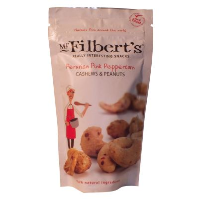 Mr Filberts Peruvian Pink Peanuts & Cashews 120g